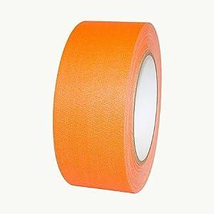 Polyken 510-Neon Premium Fluorescent Gaffers Tape: 2 in. x 75 ft. (Fluorescent Orange)