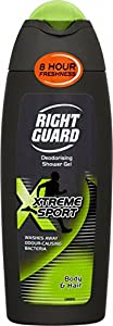 Right Guard Xtreme Sport Deodorising Shower Gel 250ml
