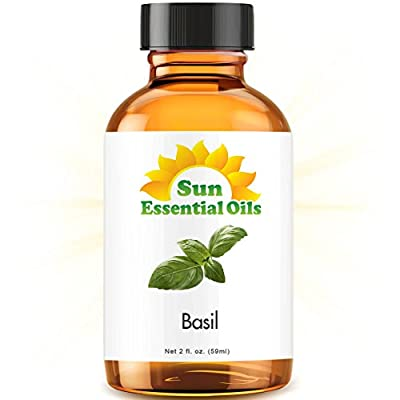 Best Cheap Deal for Basil (2 fl oz) Best Essential Oil - 2 ounces (59ml) by Sun Organic - Free 2 Day Shipping Available