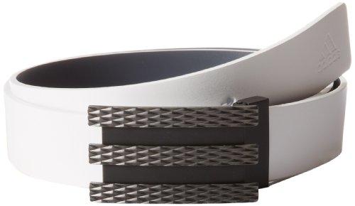 adidas Golf Trophy Belt, White/Lead, Adjustable