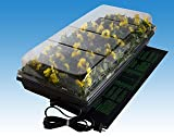 Hydrofarm Germination Station with Heat Mat 72 Cell Pack - 17W