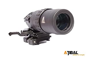 ATIBAL AT-M15 1.5-5x Magnifier with Flip to Side Mount