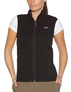 patagonia w 39 s better sweat veste gilet sans manche polaire femme noir l sports et. Black Bedroom Furniture Sets. Home Design Ideas