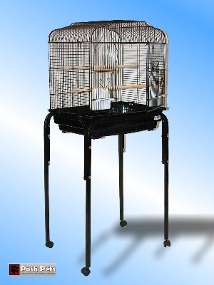 Cheap Posh Pets Baby Pablo Bird Cage With Table Stand Small Birds (A11)