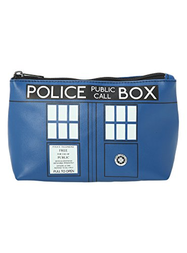Doctor Who Tardis Cosmetic Travel Bag