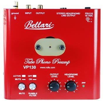 Best Price Bellari VP130 Mm Tube Phono Preamplifier With Headphone Amplifier