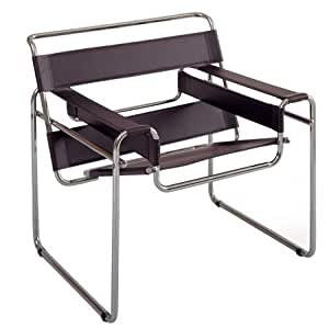 """Marcel Breuer Wassily Chair - Brown Leather """"High Quality"""""""