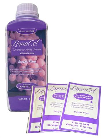Liquacel Liquid Protein Sugar Free Grape 1 X 32Oz Bottle