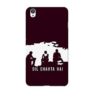 PosterHook Dil Chahta Hai One Plus X Designer Case