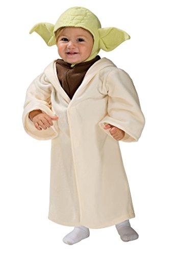 [Jedi Master Yoda Toddler Costume Star Wars Fits sizes: 2-4 (1-2 years)] (Yoda Costume Child)