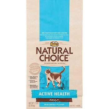 Image of Natural Choice Oceanfish Flavor Active Health Adult Cat Food, 15-1/2-Pound