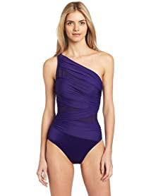 Miraclesuit Women's Fashion Figures Jena OTS One-Piece Swimsuit