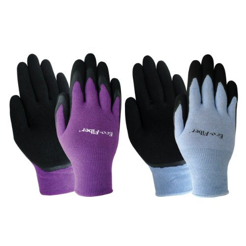 Red Steer Gloves : Best red steer m ecofiber bamboo latex glove blue