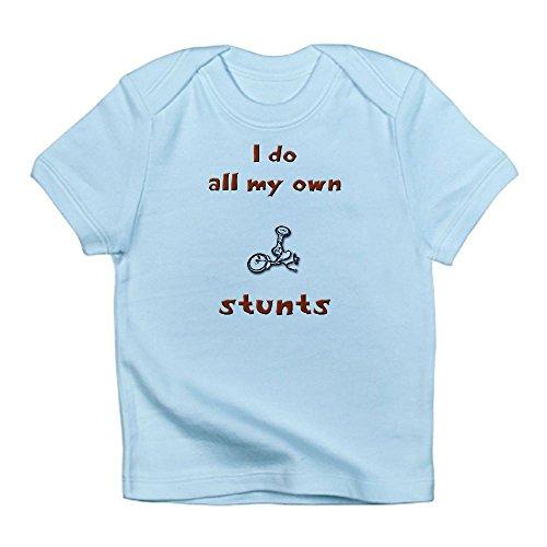 CafePress i do all my own stunts Infant T-Shirt - 12-18M Sky Blue