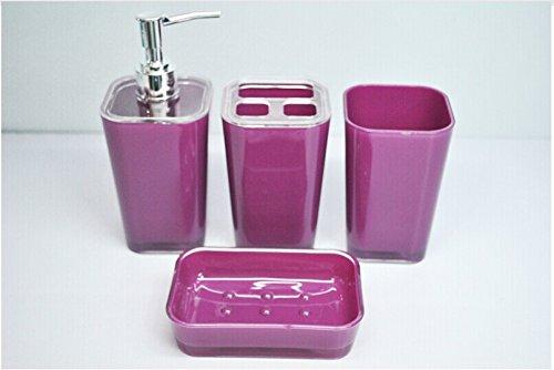 European Fashion Acrylic Bathroom Set / Upscale Gift Packaging front-917117