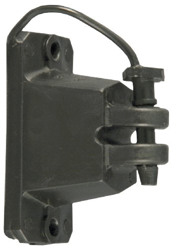 Red Snap'R Iwplnb-Rs Black Wood Post Pin Lock Insulators, 25 Count