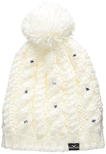 black-canyon-bonnet-en-tricot-pour-femme-avec-perles-scintillantes-et-pompon-taille-unique-blanc-bla