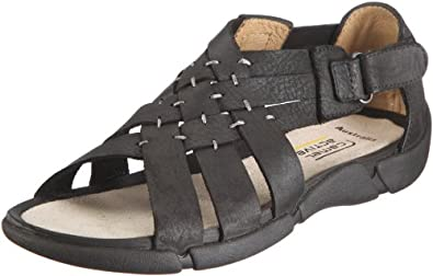 Camel Active Women's Carly Black Ankle Strap 741.11.01 5 UK