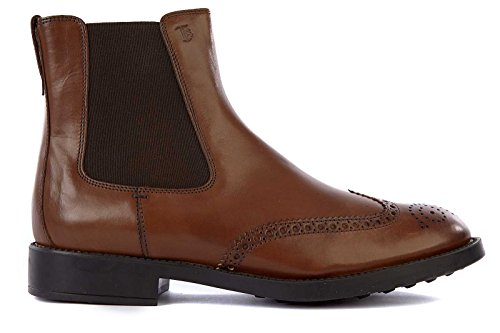 Tods Leder Stiefeletten Boots Herren esquire Braun