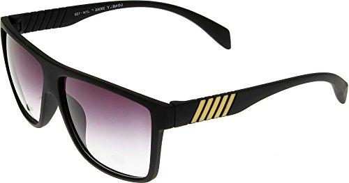 Elijaah Black Large UnisexRectangular Sunglasses 39065_mattblack_Y