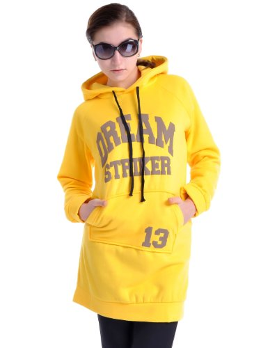 Anna-Kaci S/M Fit Yellow Dream Striker Long Athletic
