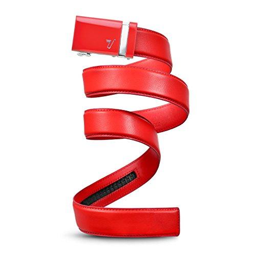 mission-belt-mens-ratchet-belt-rooster-red-buckle-rooster-red-leather-medium-33-35