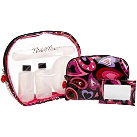 Nick & Nora Oval Travel Set