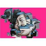 """Poster 30 x 20 cm: Graffiti Kubismus von Richard Tito - hochwertiger Kunstdruck, neues Kunstpostervon """"Richard Tito"""""""