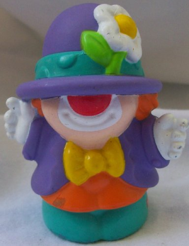 Buy Low Price Mattel Fisher Price Little People Circus Clown Replacement Figure Doll Toy (B002BUDAHW)