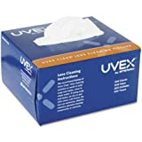Uvex by Honeywell Clear Lens Cleaning Tissues, 500/Box