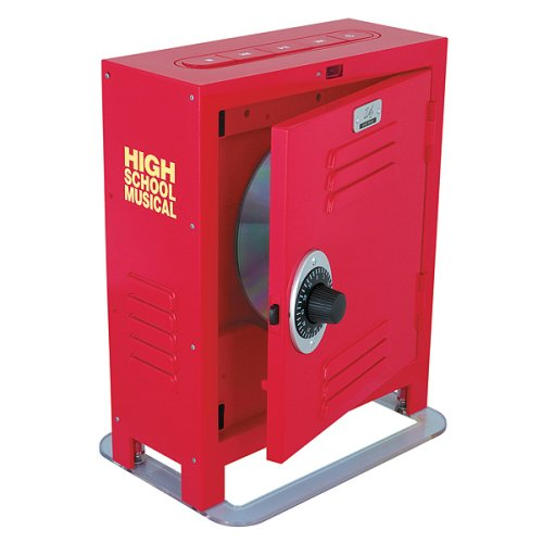 Disney High School Musical DVD Player - Red (HS600D)