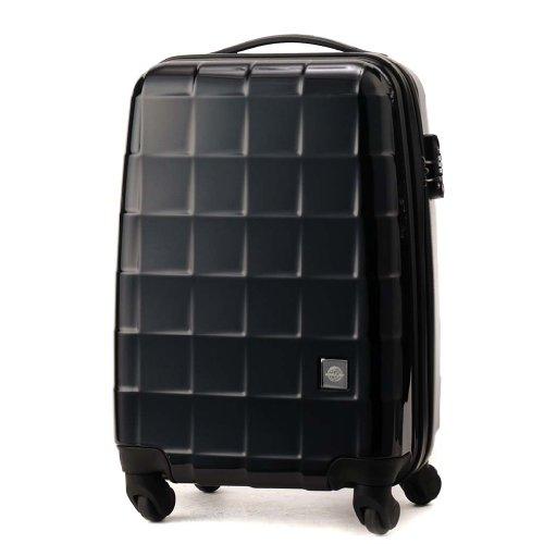 (ワールドスカイ) WORLD SKY AIR FLIGHT(エアーフライト) スーツケース AF-48-001 BLACK(トゥルーブラック ) S(48cm)/35L 機内持ち込み [並行輸入品]