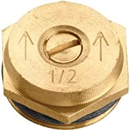 Orbit 53051 Brass Sprinkler Head Insert-HALF PATTERN BRASS INS