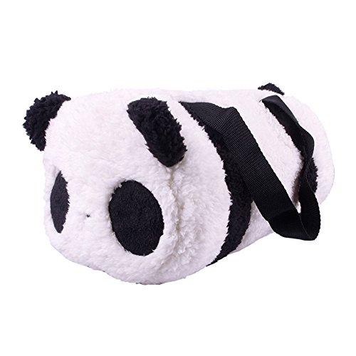 Large-Cute-Soft-Plush-Panda-Cylindrical-Handbag-Travel-Storage-Shoulder-Baby-Bag