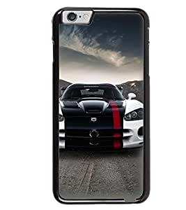 Printvisa Stylish Tricoloured Convertible Car Back Case Cover for Apple iPhone 6S Plus