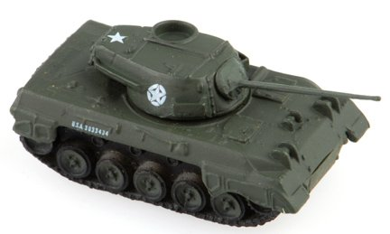 1:144 Scale WWII Tank Destroyer: M18 Hellcat - 1