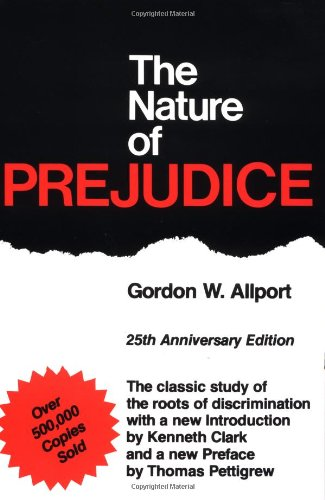 the nature of prejudice psychology essay Prejudice and discrimination continues to be a crucial and compelling topic in the field of psychology prejudice is universally defined as an unjust pessimistic.