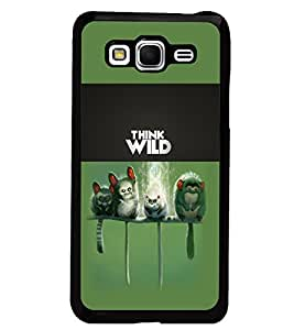 PrintDhaba Think Wild D-5961 Back Case Cover for SAMSUNG GALAXY GRAND PRIME (Multi-Coloured)