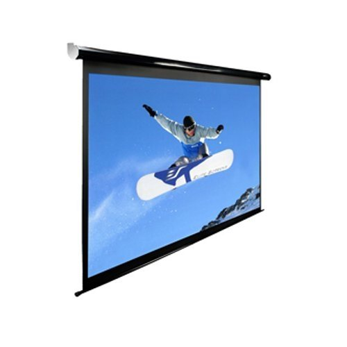 Elite screens spectrum 142 inch diagonal 16 10 auto for Motorized drop down projector screen