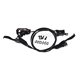 SHIMANO BR-M446 BL-M445 Hydraulic Brake Set Front and Rear (Black)