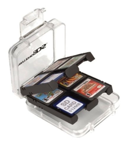 Gift Idea: DS Game Storage Clear Case - Holds 12 Games
