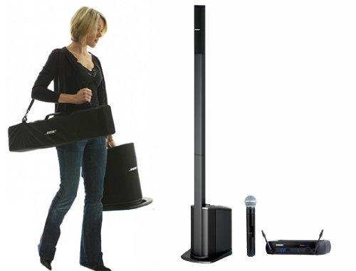 Bose L1 Compact & Shure Pgxd24/Sm58 Digital Wireless Microphone System (Bundle)