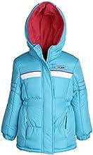 Pink Platinum Little Girls Fleece Lined Down Alternative Puffer Winter Jacket