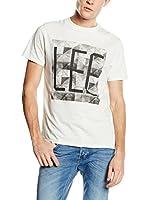 Lee Camiseta Manga Corta (Blanco)