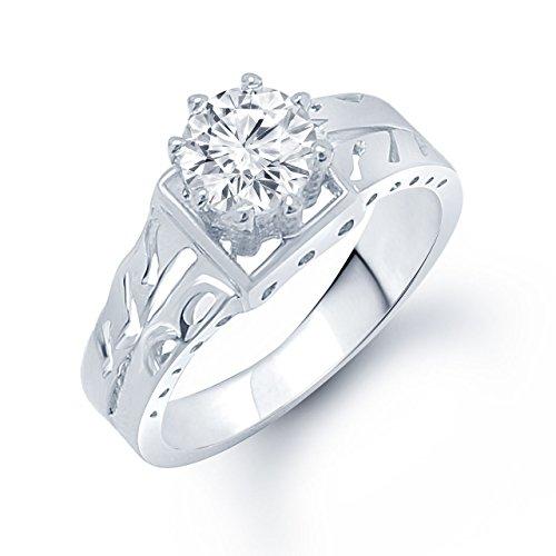 Meenaz-White-Brass-Round-Shape-Stone-Ring-For-WomenGirls