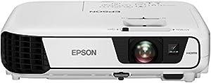 Epson EB-X31 XGA 3LCD-Projektor (XGA 1024x768 Pixel, 3.200 Lumen Weiß- & Farbhelligkeit, 15.000:1 Kontrast, 1x HDMI, Lampenlebensdauer bis zu 10.000 h im Sparmodus), weiß