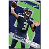 (22x34) Russell Wilson - Seattle Seahawks Football Poster at Amazon.com