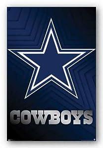 Amazon.com - (22x34) Dallas Cowboys (Logo) Sports Poster Print