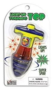 Light-Up Tornado Top (Colors May Vary)