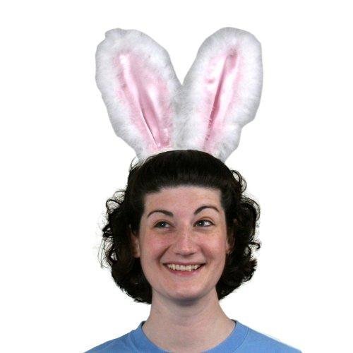 Amscan Furry Bunny Ears Headband - 1